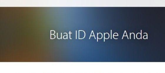 Cara Membuat ID Apple Baru Tanpa Kartu Kredit