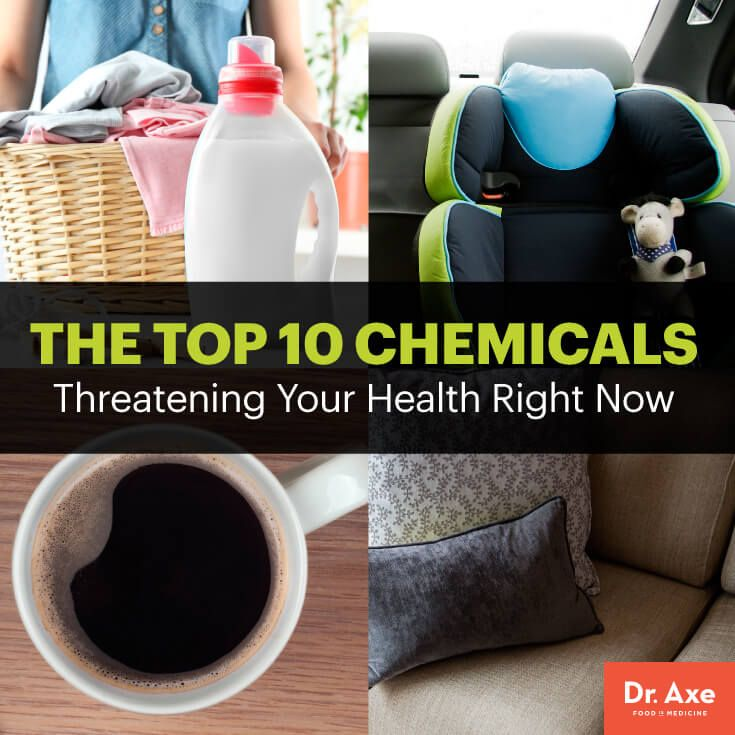 Top 10 chemicals threatening your health - Dr. Axe http://www.draxe.com #health #holistic #natural