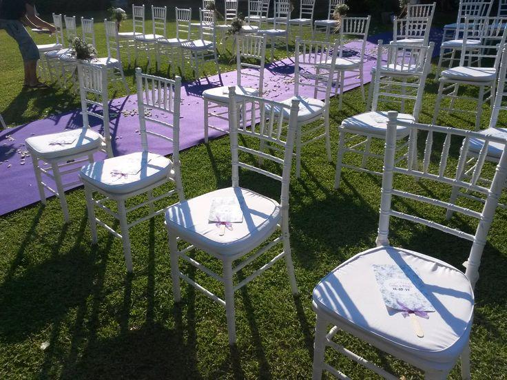 Pasillo de la ceremonia civil boda mayte y carlos bodas for Boda en un jardin
