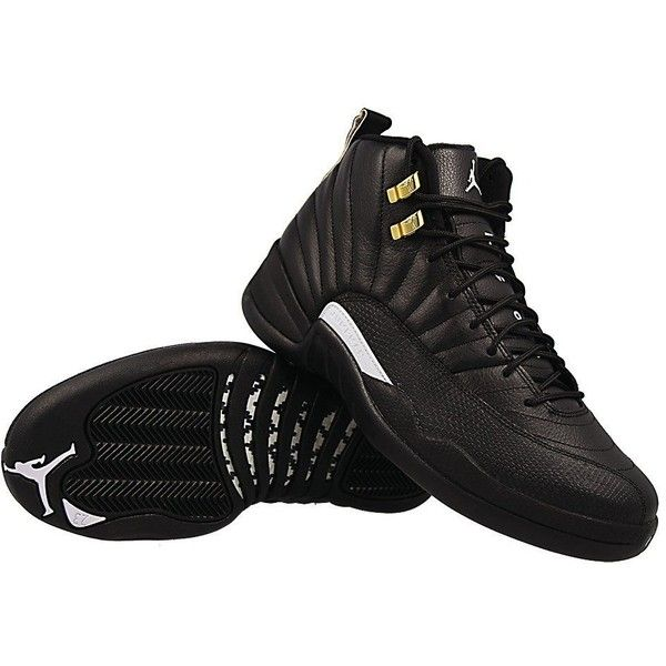 27244abaf769 ... Nike Mens Air Jordan 12 Retro Black White-Metallic Gold Leather ( 332)  ...