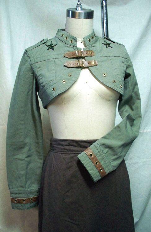 Darkwear Clothing Airship Captains Steampunk Jacket