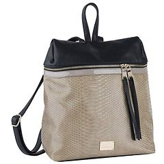 Achilleas Accessories - Προϊόντα : New Collection | FW 2014-15 / Τσάντες / Backpacks / ΤΣΑΝΤΑ ΠΛΑΤΗΣ ΚΡΟΚΟ ΔΙΧΡΩΜΗ