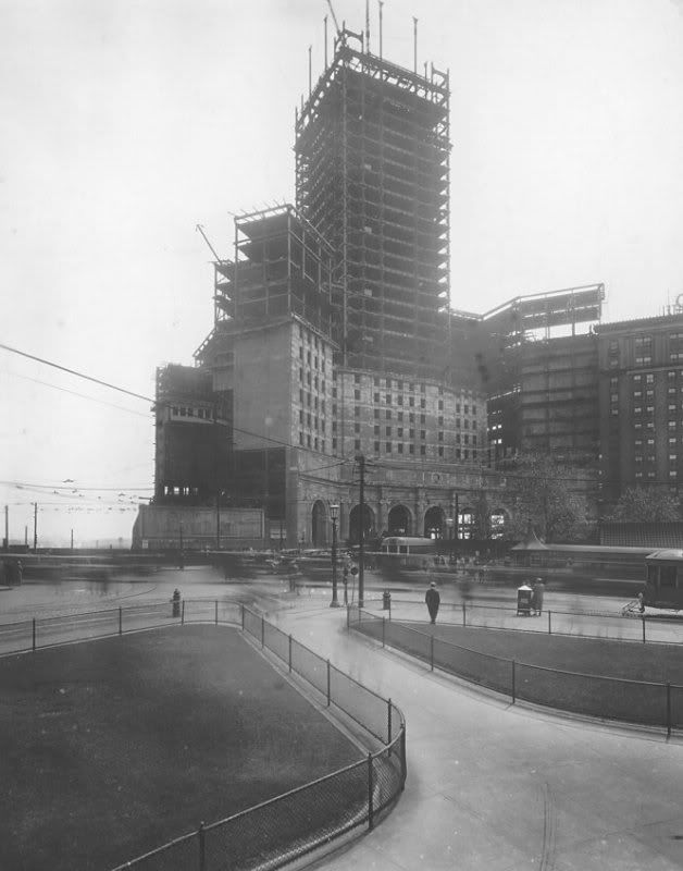 The Terminal Tower underconstruction, Cleveland | The Vintage Photo Thread