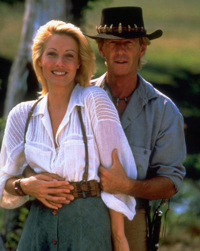 Crocodile Dundee Actors | High quality, gloss or matt photo of Crocodile Dundee [Cast]