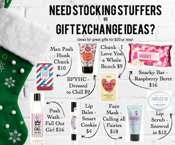I stuffed my husband's stocking with Perfectly Posh's man Posh products. It makes the best stocking stuffers, you just can't beat Christmas gifts for $25 and under! Christmas shop online at http://perfectlyposhwemily.po.sh or msg. Me on fb at https://www.facebook.com/emily.krona