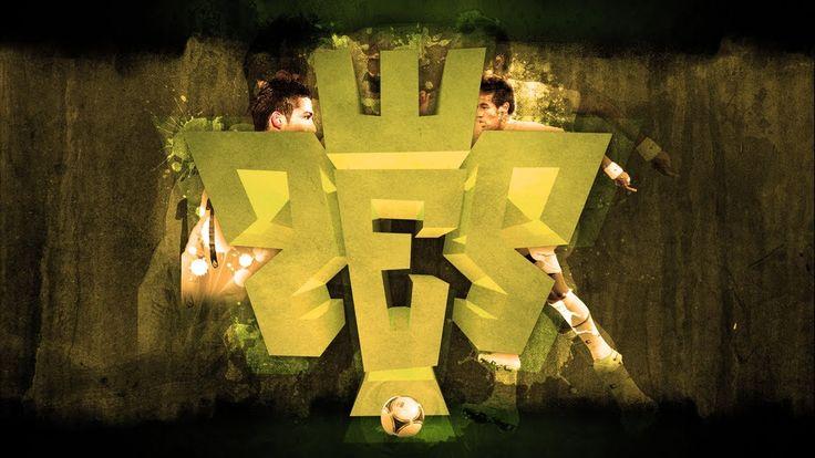 #Adobe #cinema4d #evolution #fifa #football #goal #Neymar #pes #photoshop #pro #ronaldo #soccer #Tutorial #wallpaper Tutorial Cinema4D + Photoshop - Wallpaper PES (Pro Evolution Soccer)