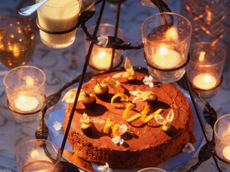 Découvrez la recette Marquise au chocolat et à la clémentine sur cuisineactuelle.fr.