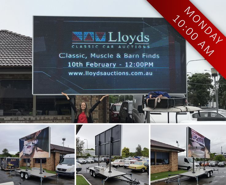 Take a look at this MASSIVE 2017 Nova LED Sign Board we have at our auction house in Carrara, QLD! 🖥️  The screen is 13.1 square/metres and is going under the hammer in our Civil, Transport and Machinery Auction on MONDAY at 10:00 am ➡️ www.lloydsonline.com.au/AuctionLots.aspx?aid=7869&utm_content=buffer421b1&utm_medium=social&utm_source=pinterest.com&utm_campaign=buffer