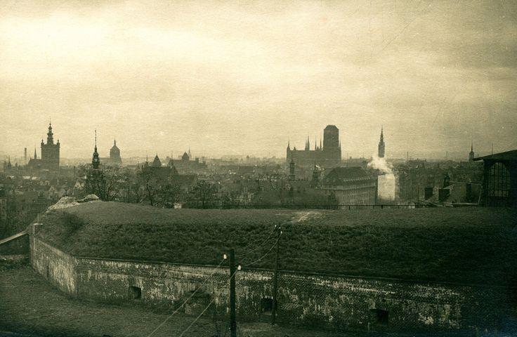 Przed wojną widok z góry Gradowej