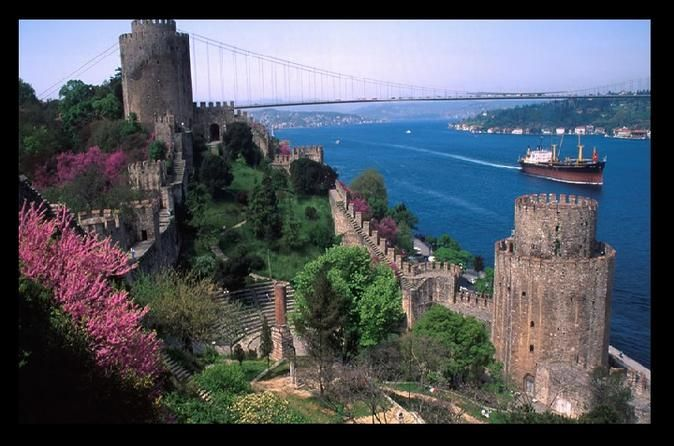 Best of Istanbul Tour Bosphorus Cruise, Cable Car to Pierre Loti Cafe, Rustem Pasa Mosque, Hagia Sophia, Underground Cistern, Blue Mosque, Hippodrome. This is a boutique tour with a maximum of 15 participants.After pick up at around 08:30 from either your hotel or the Istanbul cruise port, you will visit the following sights with an experienced and licensed professional guide:Cable Car - Pierre Loti: Enjoy the beautiful view from the cable car as you climb the hill to the cafe...
