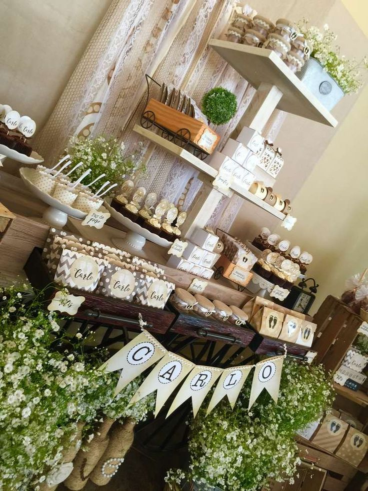 Carlo's Baptism  Baptism Party Ideas | Photo 8 of 22