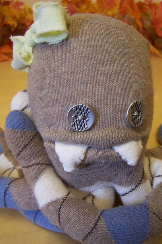 how to make a sock monster