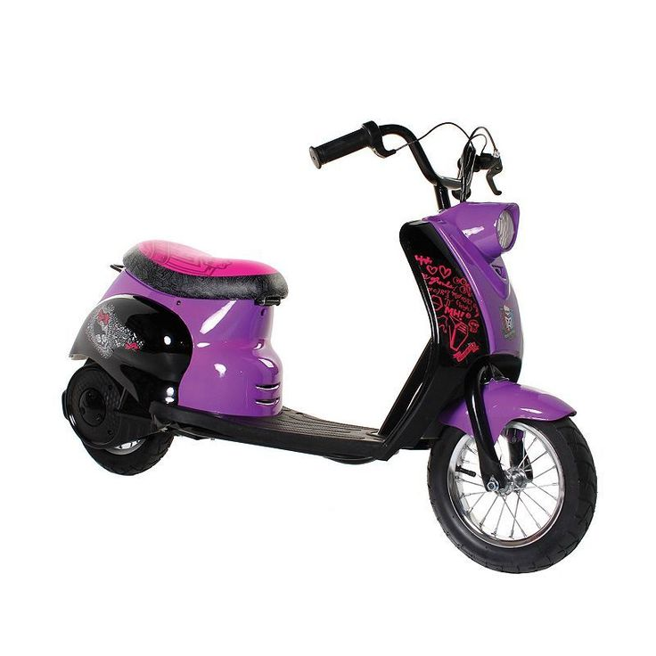 Monster High Electric City Scooter, Multicolor