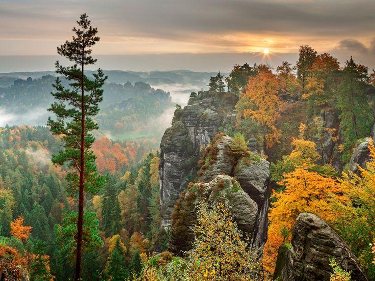 Elbsandsteingebirge: Klettern im Felsenmeer