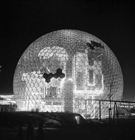 Buckminster Fuller and Shoji Sadao, US Pavilion at EXPO '67, Montreal, Canada 1967