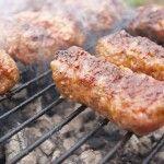 The original 1920′s recipe for Mititei sausages at Caru cu bere restaurant in Bucharest