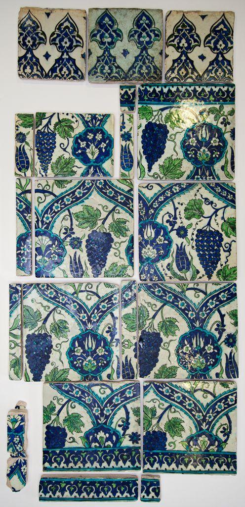 Iznik style; category Date: circa 1560 — 1600 School/Style: Ottoman
