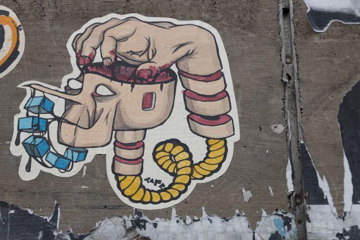 Brains sticker Berlin 2014