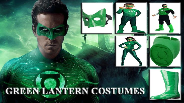 GREEN LANTERN ULTIMATE COSTUME GUIDE FOR ENTIRE FAMILY