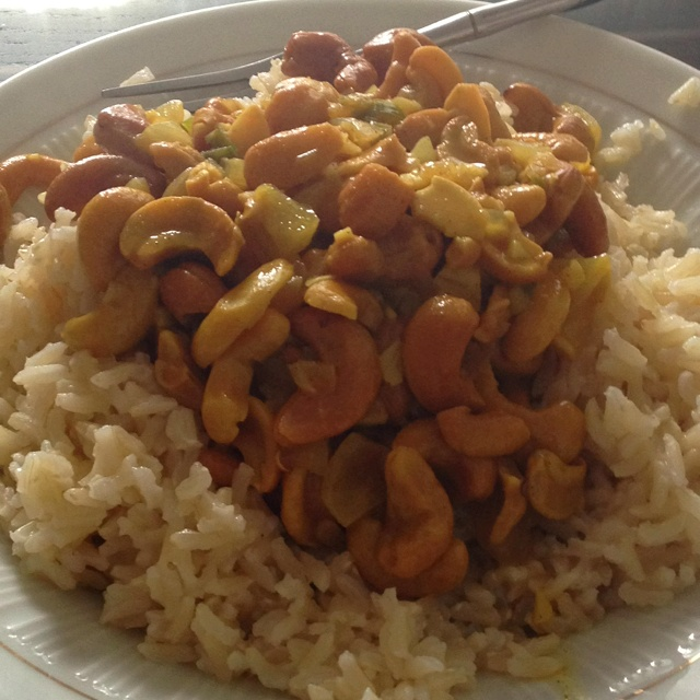Cashew Curry | Recipes I need someone to make | Pinterest