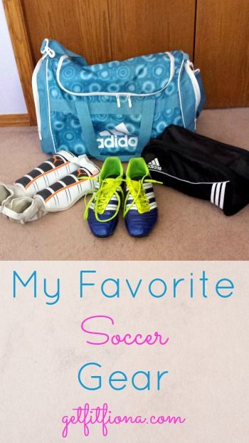 In My Favorite Soccer Gear I share my essential pieces of soccer equipment.