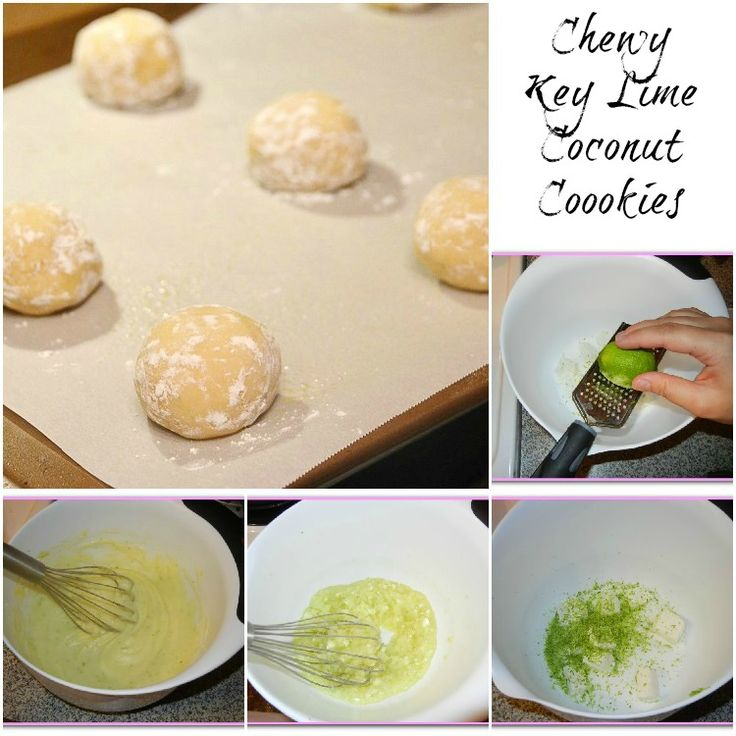 Chewy Key Lime Coconut Cookies - Will Cook For Smiles