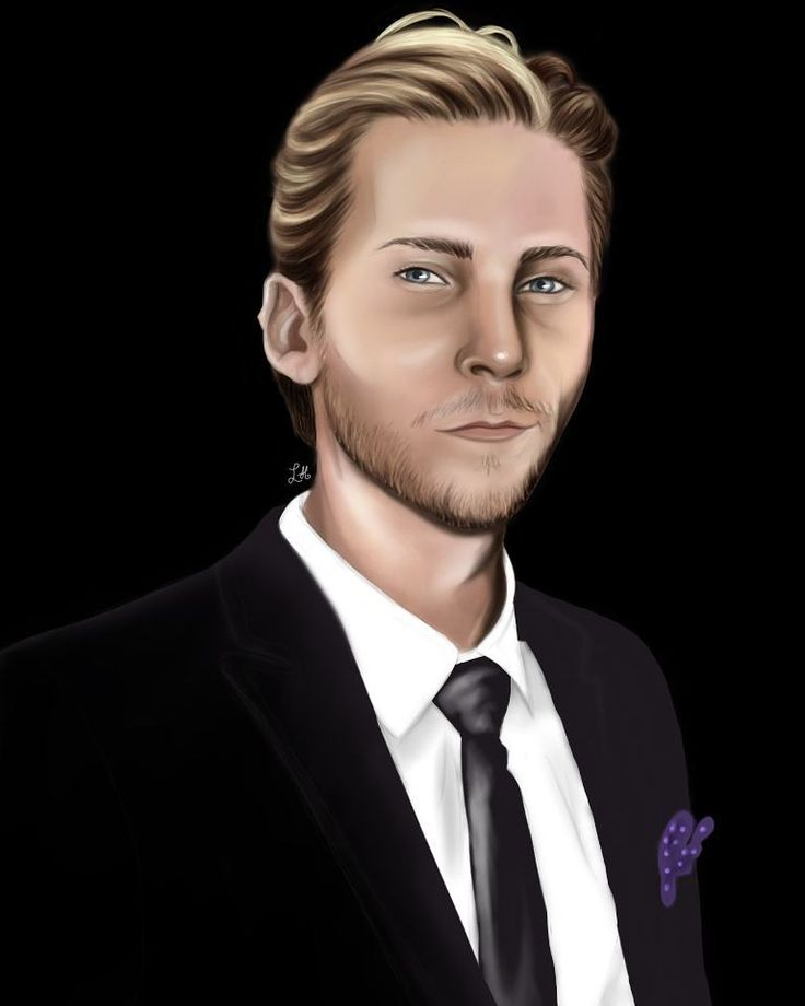 "Troy Baker Fanart @candycandy362 : ""It's @officialtroybaker  i drew again today!  Amazing Musician  and an voice actor ❤❤ Love his…"""