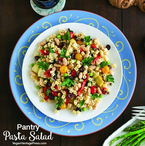 Pantry Pasta Salad from Cook the Pantry by Robin Robertson