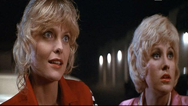 Michelle Pfeiffer and Lorna Luft in Grease 2 (1982)