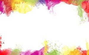 брызги, Кисти, краски