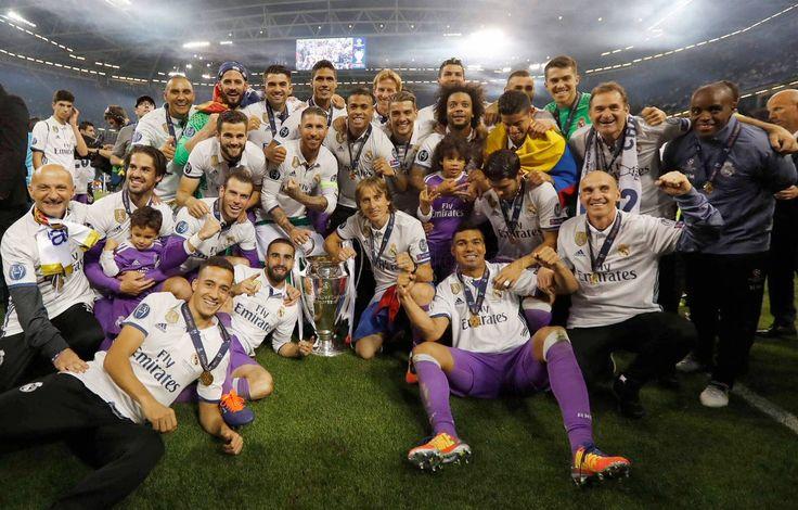 Real Madrid Real Madrid Champions League 12 duodecima Cardiff 2017