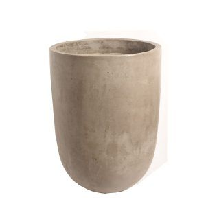 Greywash Tall U Pot