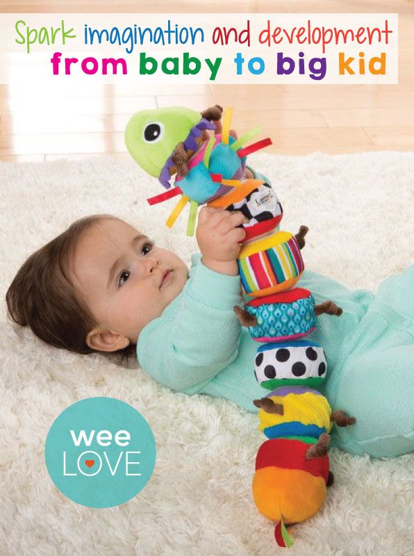 #weeLove this toy from Tomy/Lamaze--not only is it adorable and fun, but it encourages appropriate development and learning, too!