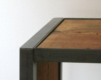 reclaimed wood bookcase – Etsy
