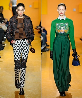 Kenzo Can Make Even Industrial Carpeting Look Glamorous - love the pants