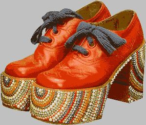 These are like the platform shoes I had 35 years ago, except that these are totally hideous.