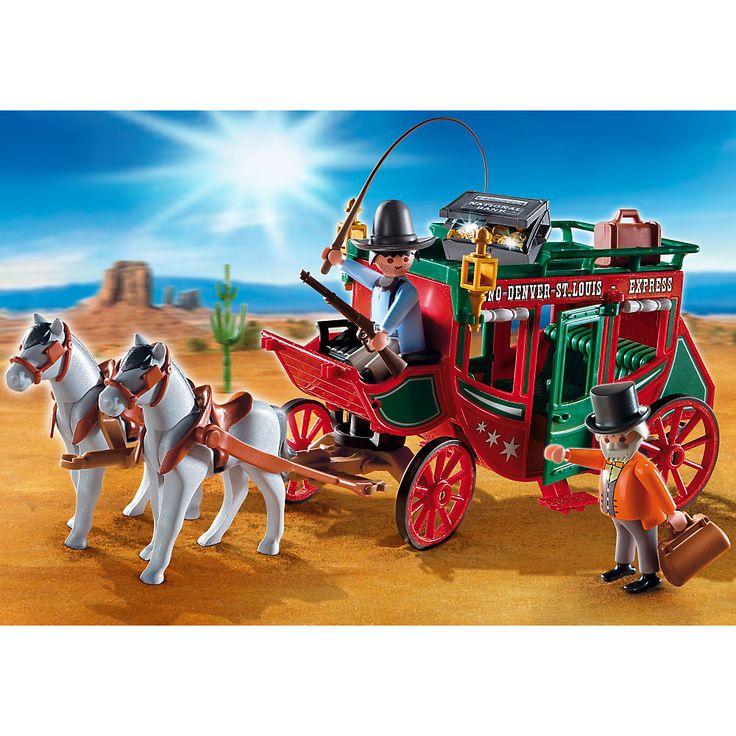 Playmobil Western Dyliżans pocztowy, 4399, klocki