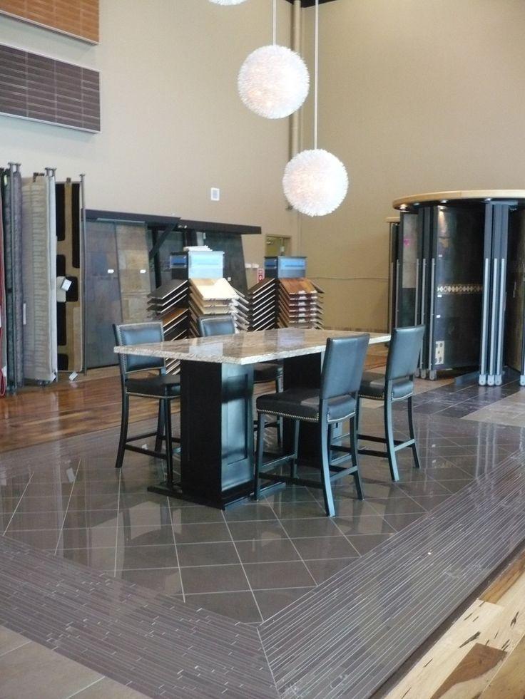 Flooring Showroom at Dannburgs Portland street SE, Calgary location.