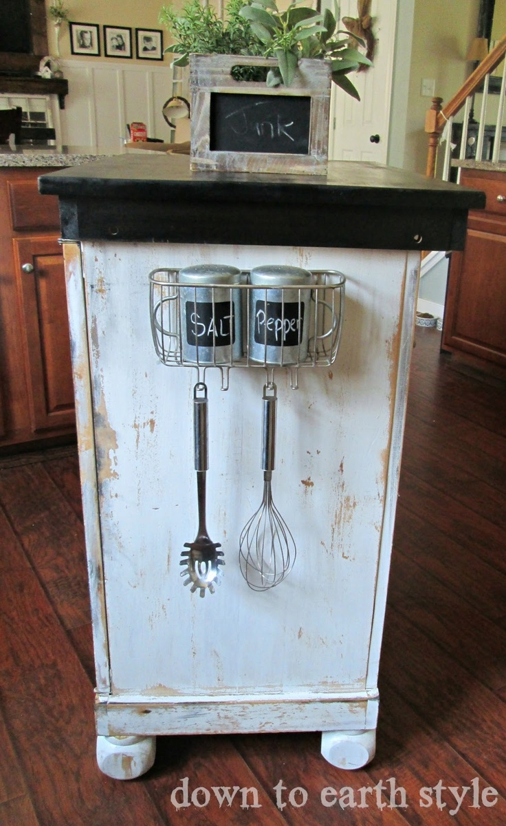 Down to Earth Style: Shower Caddy turned Kitchen Caddy