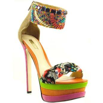 Bakers: Adriana Wp, Fashion Shoes, Baker Shoes, Dresses Shoes, Wild Pairings, Fashion Looks, Pairings Adriana, Platform Sandals, Style Fashion