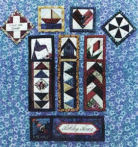 Image detail for -Quick as Can Bee 2 Quilted Bookmarks Pattern Pack   eBay