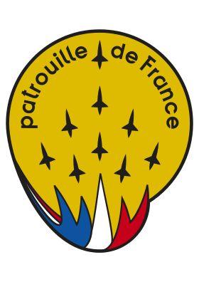 Badge de la Patrouille de France.