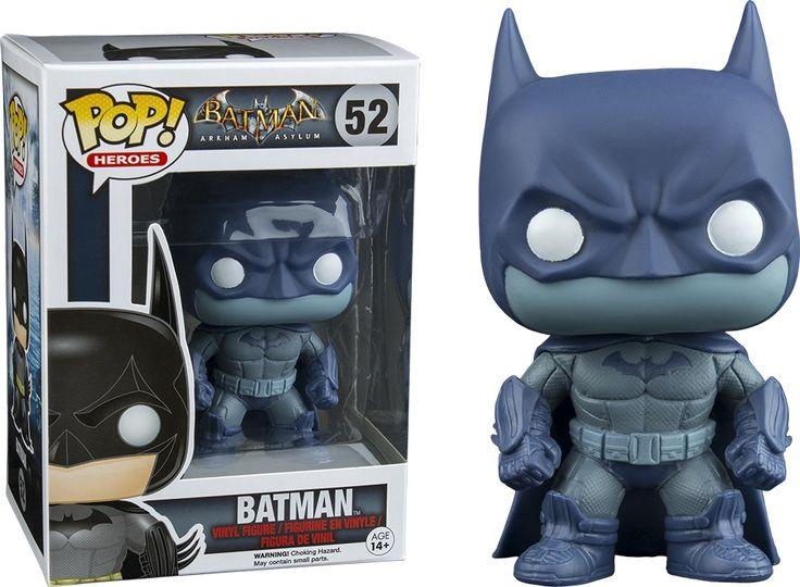 Funko Pop! Batman Arkham Asylum Batman detective Vinyl Figure #52