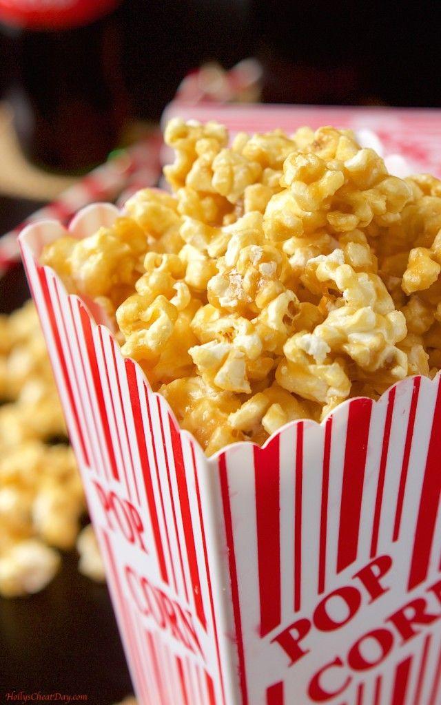easy-caramel-popcorn| HollysCheatDay.com