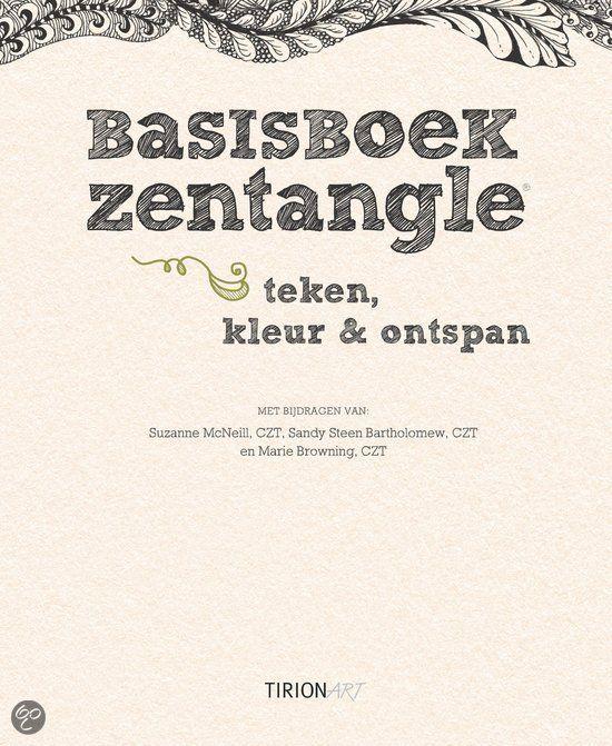 bol.com | Basisboek Zentangle, Suzanne McNeill | 9789043916967 | Boeken