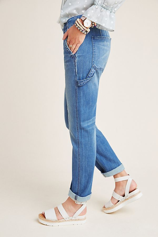 Pilcro Relaxed Carpenter Jeans Carpenter Jeans Simple Outfits