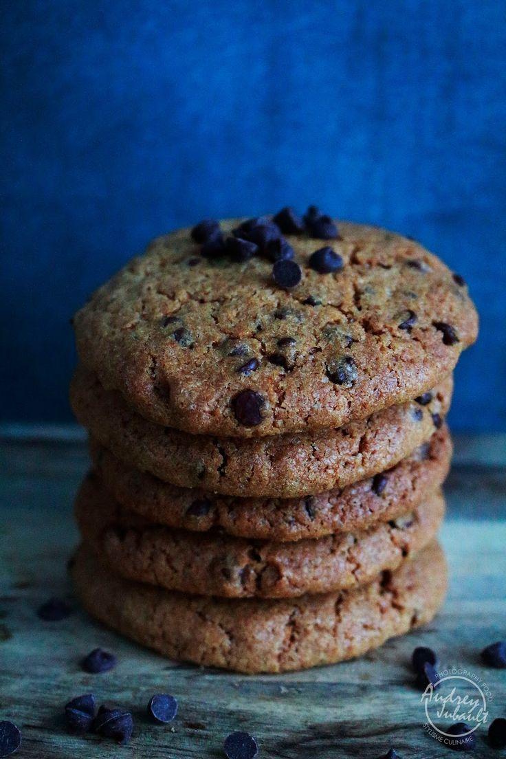 cookies, recette de cookies, recette de cookies au chocolat, praliné, pépites de chocolat, pépites de chocolat noir, chocolat noir, recette facile de cookie, recette facile de cookies, cookies chocolat
