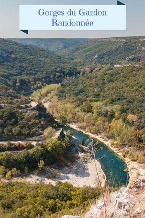 Randonnée dans les Gorges du Gardon : Photos et itinéraires sur randotrip.net
