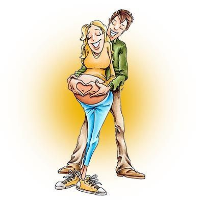 Geeky Love Expecting Digi Stamp in Digital images