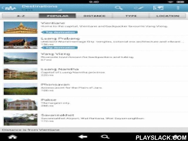 Laos Travel Guide By Triposo  Android App - playslack.com , A complete guide to Laos that works offline. Vientane, Luang Prabang, Vang Vieng and more.Features:- Laos at a Glance: the background info that you need to have before you go.- A country map highlighting all the cities and national parks.- Complete city guides for the most important destinations, with sights, restaurants, things to do and a city map.- Mini guides for less important destinations.- Phrasebooks for Lao.About Triposo:We…